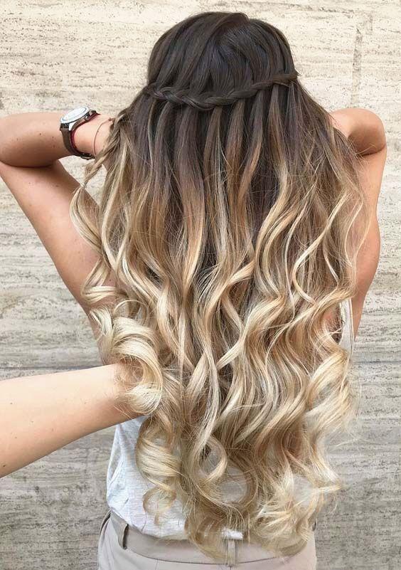 #die #einfache # Frisuren #für # hübsche Frisuren, #BraidsHairsummer #Die #einfache # Frisuren ...