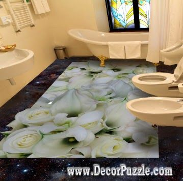 3d Bathroom Floor Art Murals Designs, Self Leveling Floors For Bathroom  Flooring Ideas