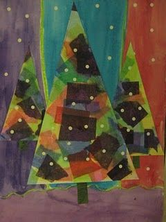 Erilaisia joulupuita
