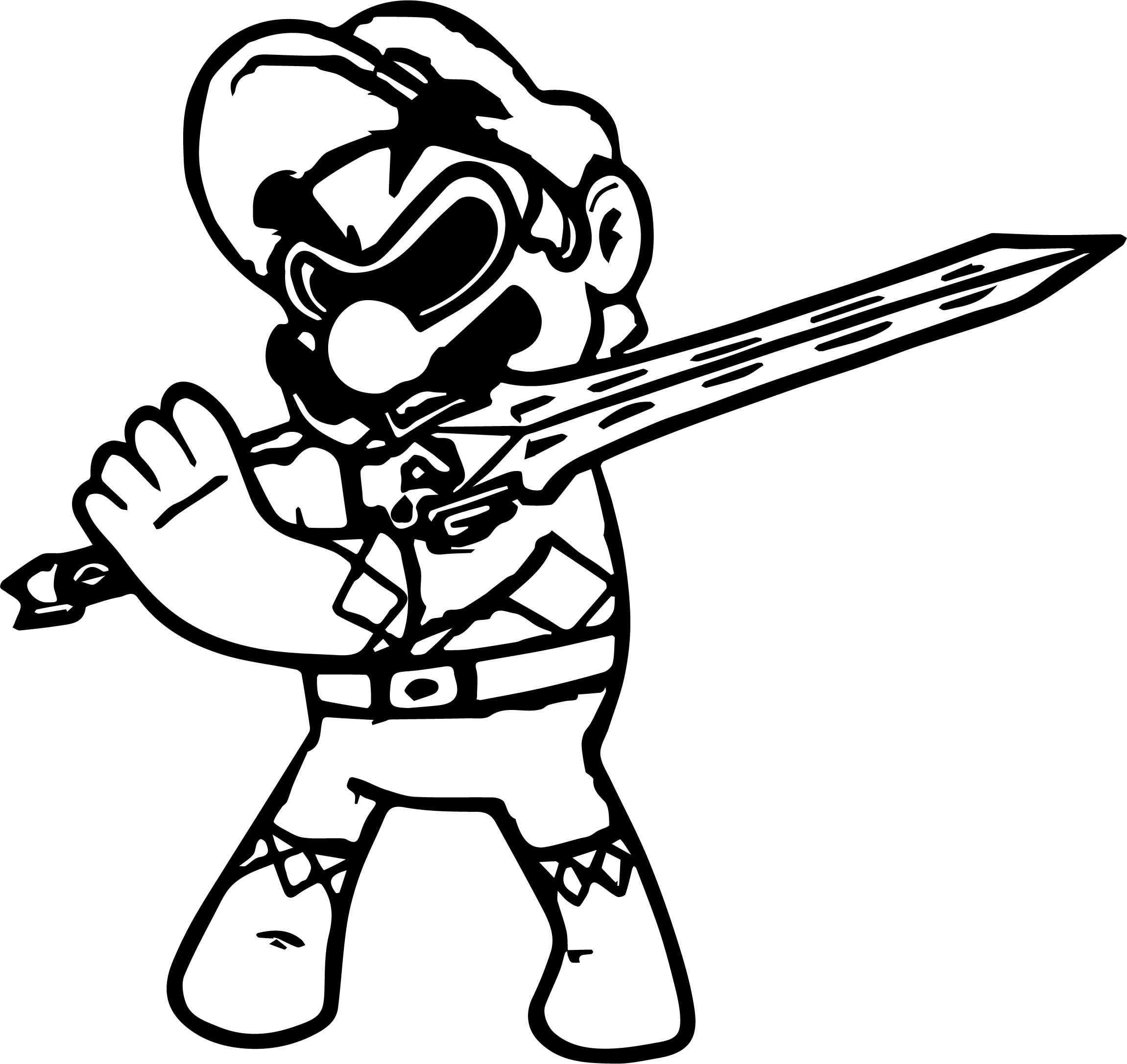 cool Power Rangers Super Mario Coloring Page (With images