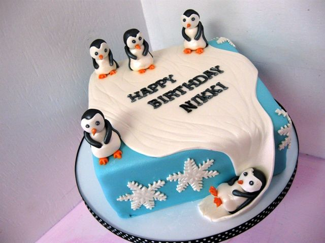Incredible Jamaican Theme Cakes Bing Images With Images Penguin Cakes Funny Birthday Cards Online Alyptdamsfinfo