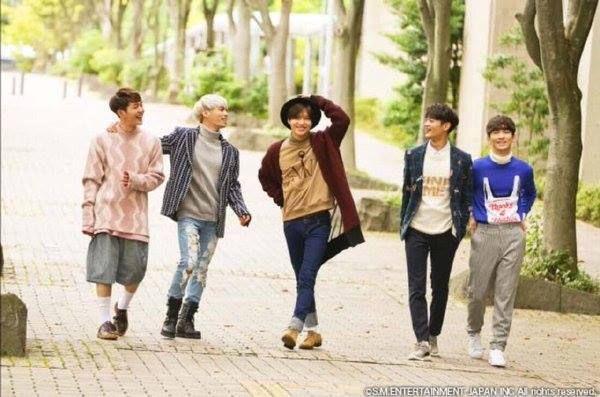 Onew, Jonghyun, Taemin, Minho and Key. 'Sing Sing Sing' 2015