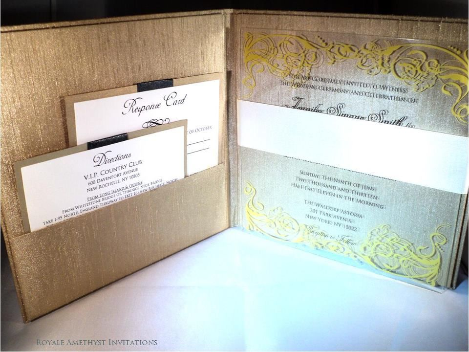 in context... silk box... Wedding invitation inspiration
