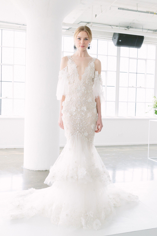 Boho Wedding Dress Marchesa Bridal Most Beautiful Dresses