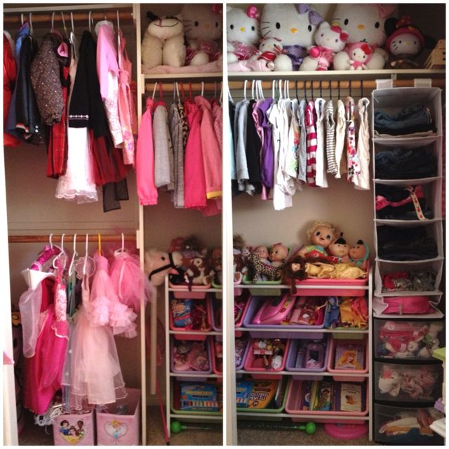 Delightful Finally Organized My 5 Year Old Daughters Closet! Girls Bedroom Storage,  Room Ideas Bedroom