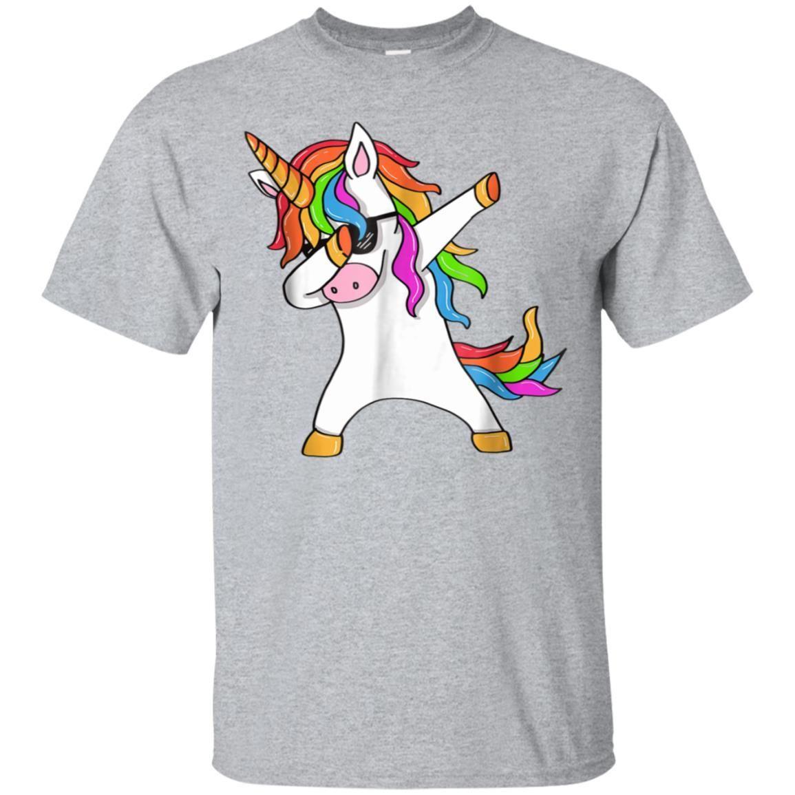 101f8c220 99promocode Dabbing Unicorn T-Shirt - Unicorn Dab T-Shirt - Unicorn Gift