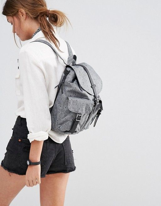 3ebe6bbfbea Herschel Supply Co Womens Dawson Scattered Raven Backpack