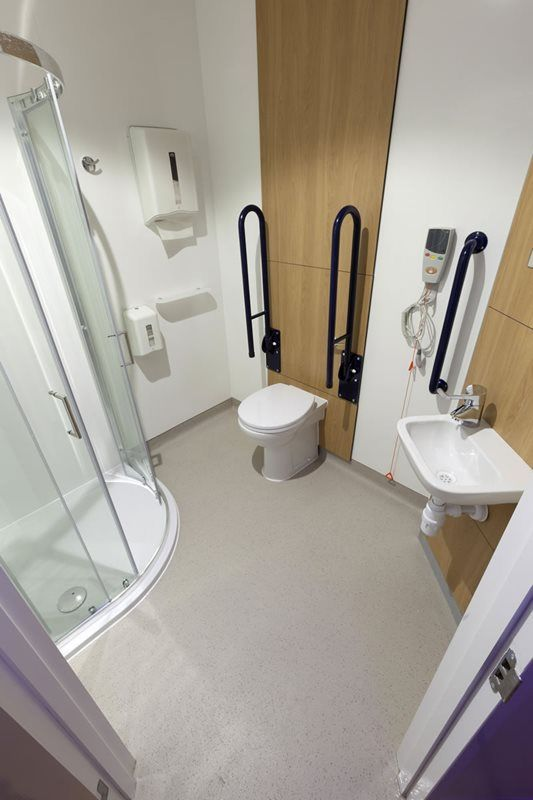 Pin By Robin Dickinson On Ideas For The House Wet Rooms Floor Safe Flooring