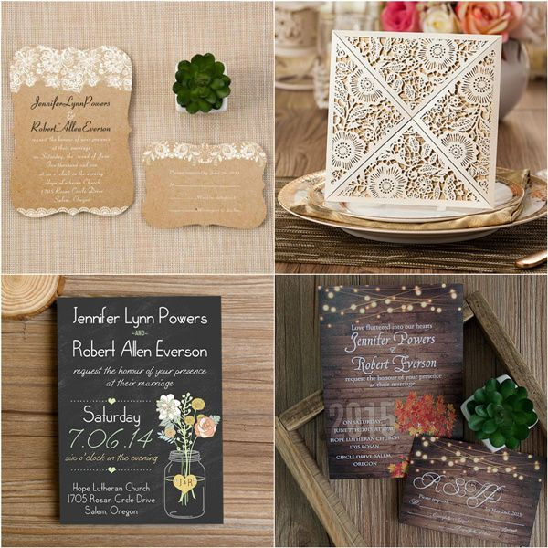 24 awesome rustic outdoor wedding ideas to steal - Outdoor Wedding Invitations