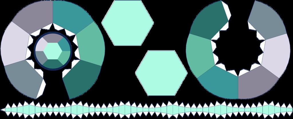 Alexandrite Amethyst Papercraft Template By Portadorx Deviantart Com