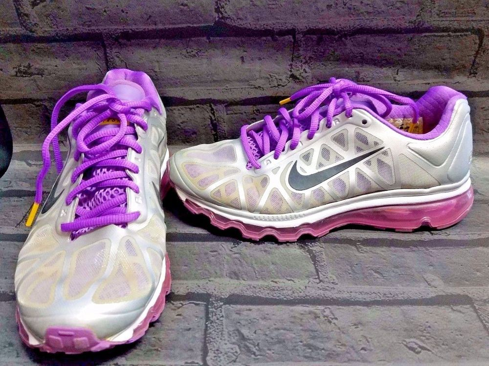 4f970361812 Nike Air Max Livestrong Womens Size 8 Running Shoes Vivid Grape Purple  Nike   RunningCrossTraining