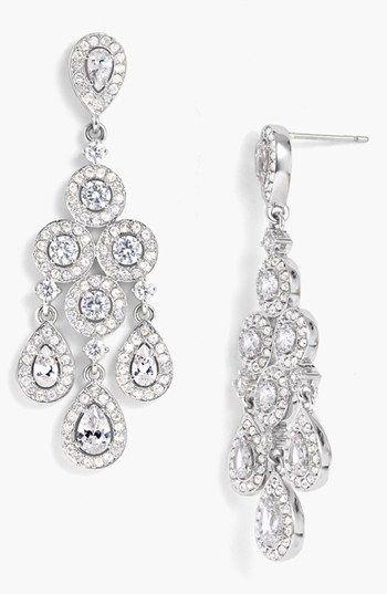 Nadri Framed Chandelier Earrings Nordstrom Wedding Jewelry Bridal Jewelry Bridal Earrings