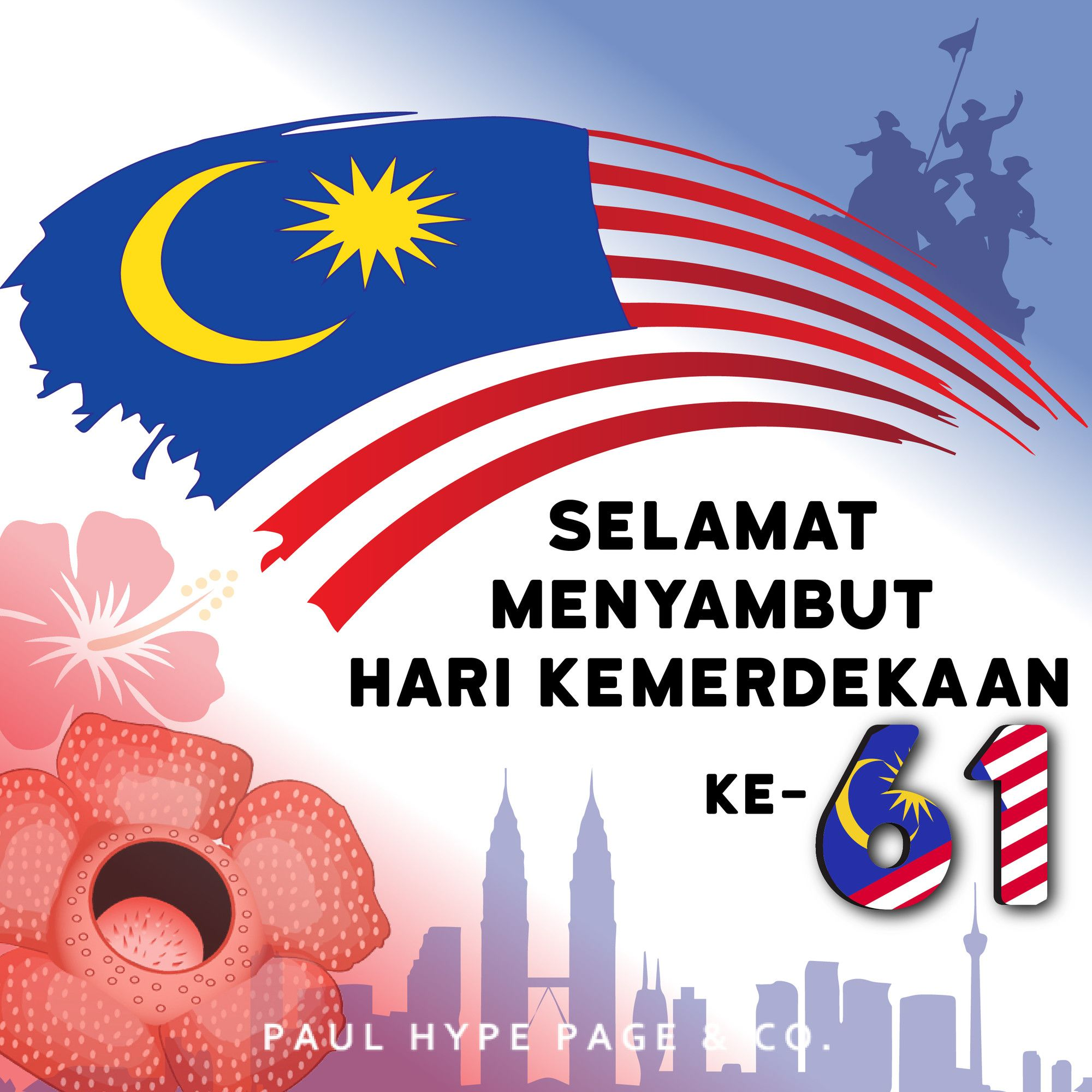 Malaysia Celebrates Its Independence Day On 31 August Every Year With Fireworks And Merdeka Independence Day Poster Independence Day Wallpaper Independence Day