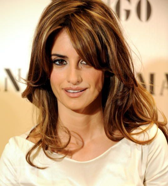 Penelope Cruz Hairstyle Hair Styles Hair Color For Morena Penelope Cruz