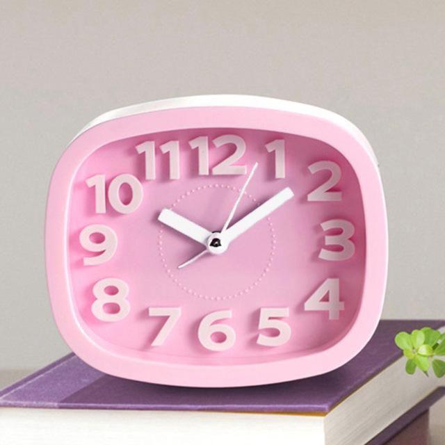 New Design Alarm Clock Kids Students Bedroom Desk Table Clock Living ...