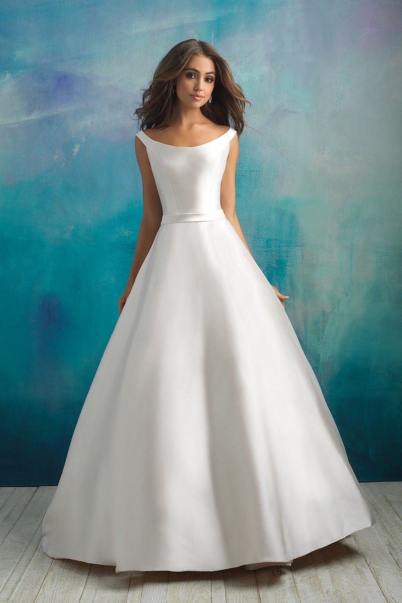 Wedding Dress Out Of Allure Bridals 9524 In 2020 Allure Bridal Gowns Allure Wedding Dresses Wedding Dresses