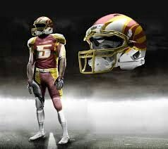 lowest price 2e9d2 18e10 Washington Redskins Alternate Uniform Design Concept ...