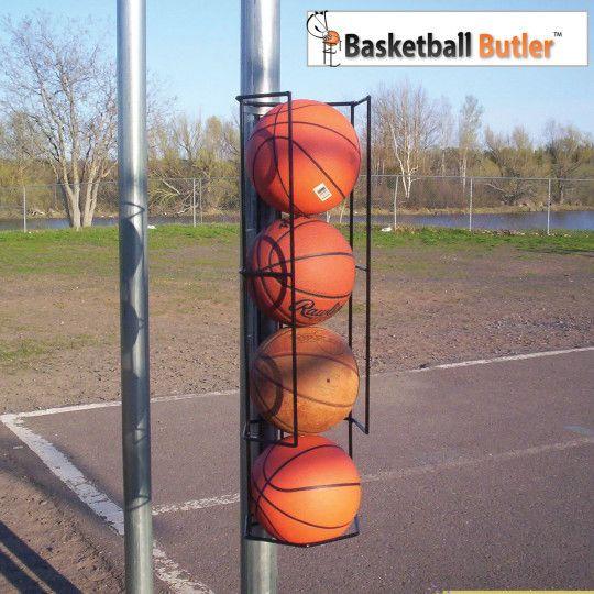 Buy Basketball Butler™ 4 Ball Storage Rack At Su0026S Worldwide
