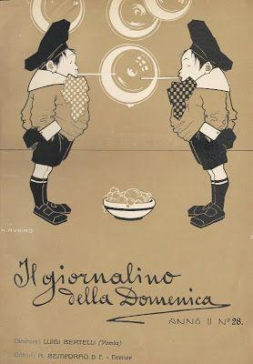 Il Giornalino della Domenica. Antonio Rubino 1907