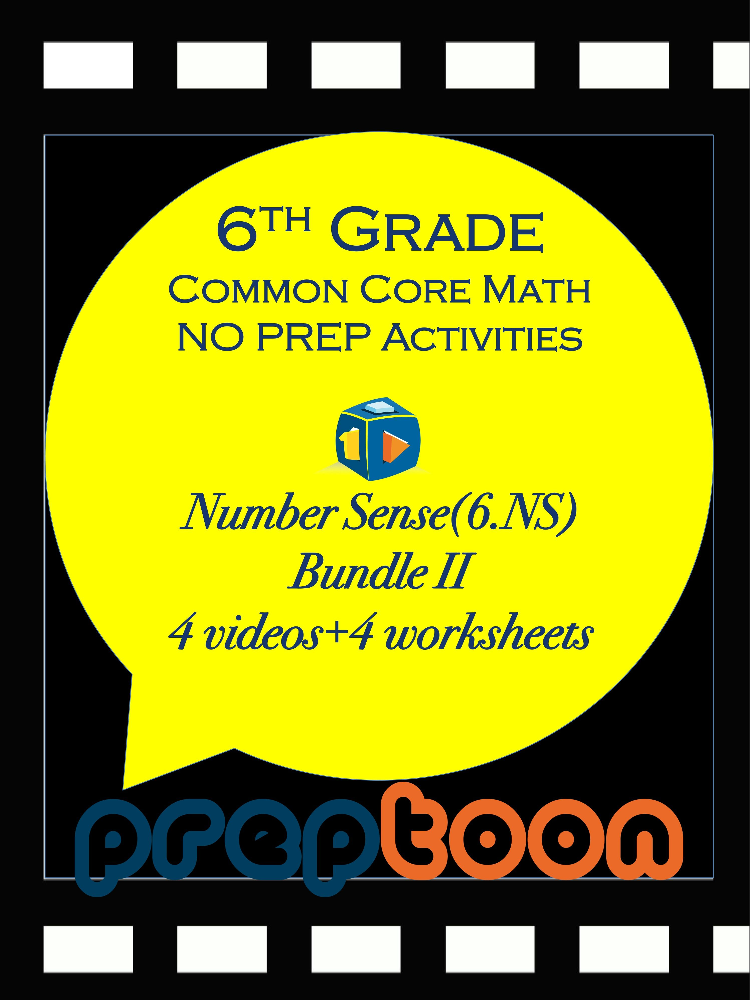 Number Systems Review II - (Summer camp activities) | Math class ...