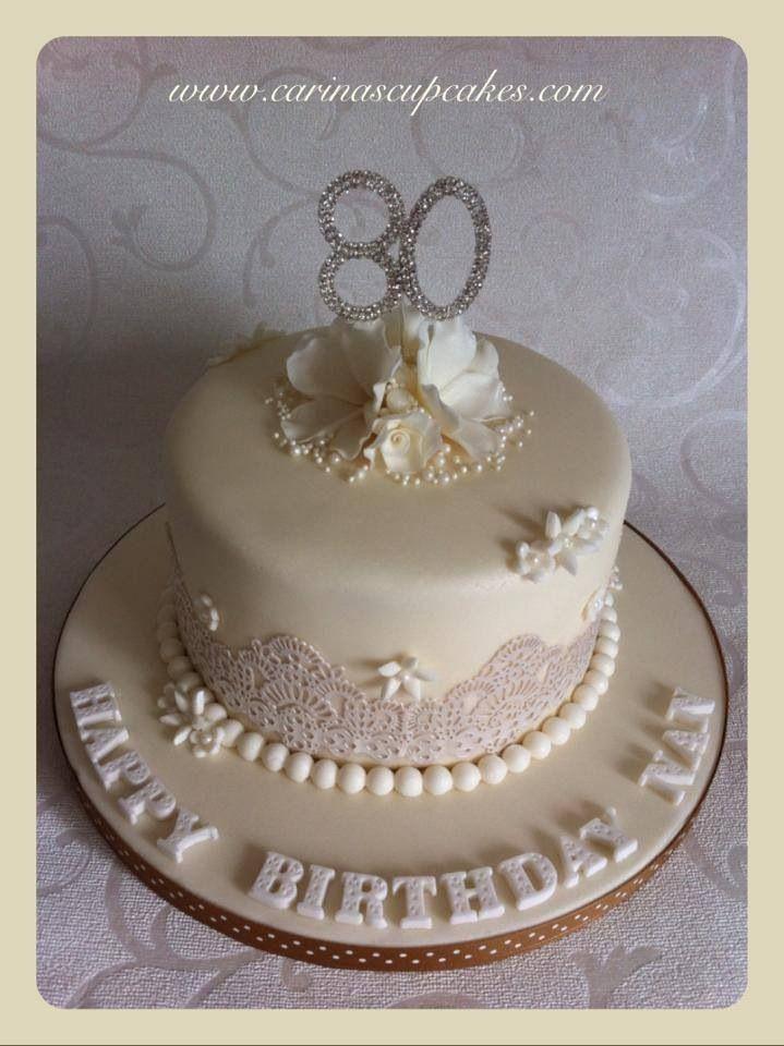 80th Birthday Cake In 2019 Birthday Cake Cake 80