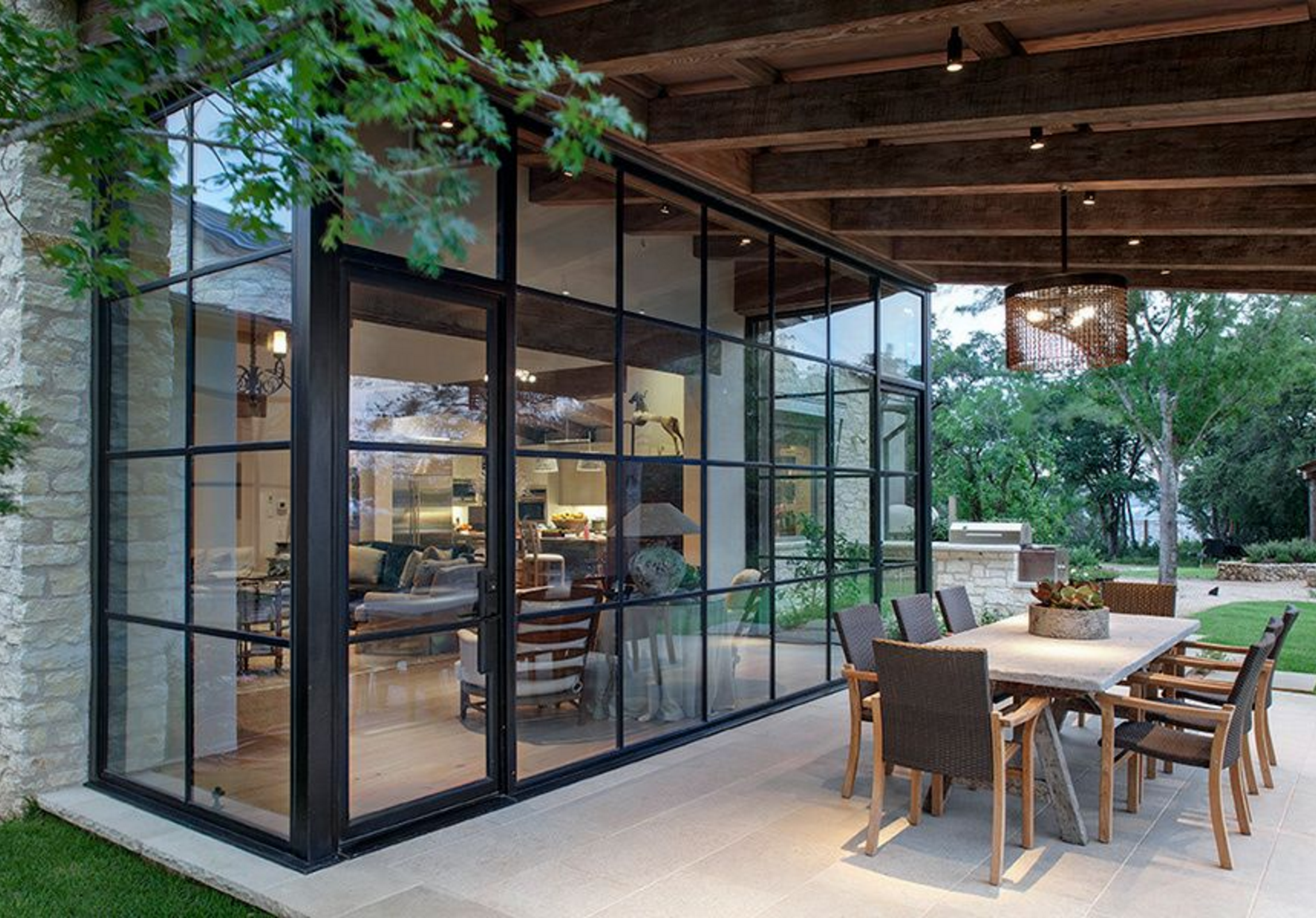 Designed to maximize the use of glass the steel doors and windows in Durango Doors & Designed to maximize the use of glass the steel doors and windows ... pezcame.com