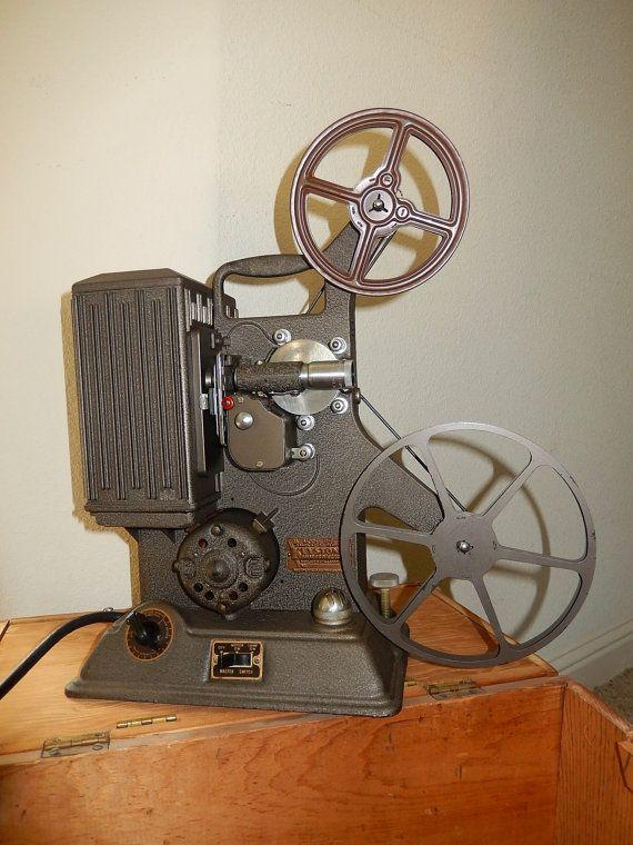 Vintage KEYSTONE 8mm MOVIE projector R8 in custom wood