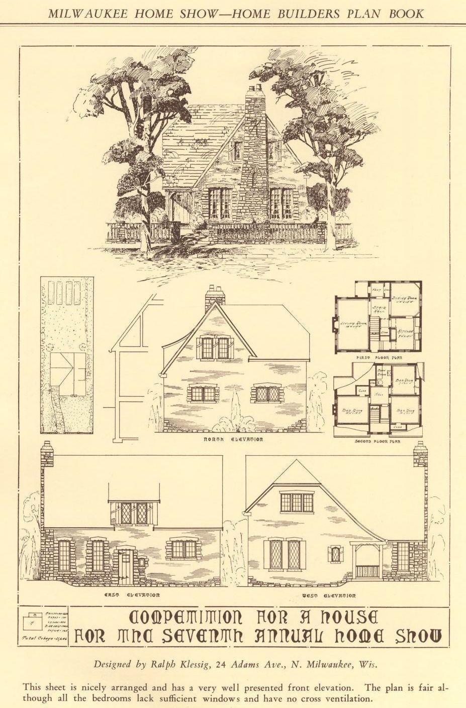 Home Builders Plan Book Small House Service Bureau