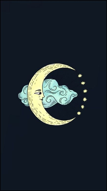 Blue Moon Fondos Para Celular Hipster