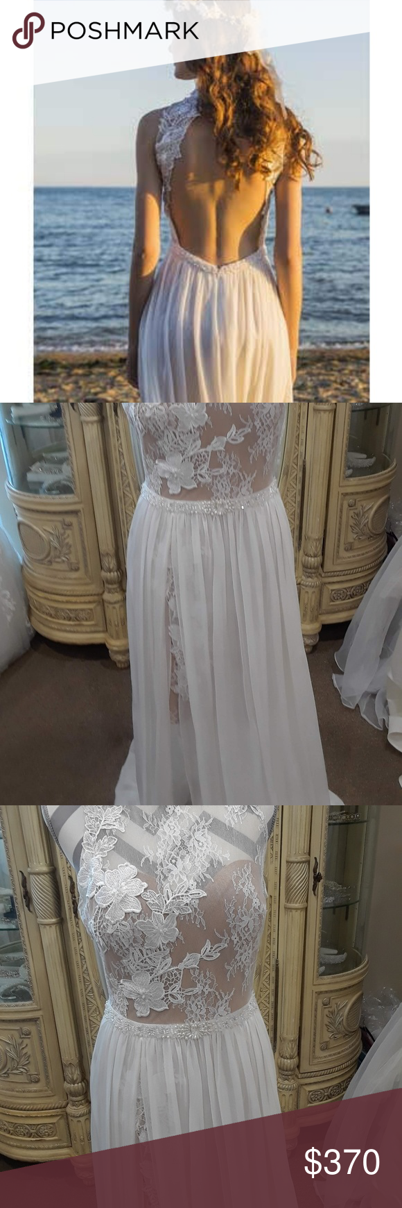 Chic Nostalgia Boho Lace Halter Wedding Gown Lace Halter With Flattering Open Back And Slightly Gathered C Wedding Gown Halter Wedding Gowns Lace Wedding Gowns [ 1740 x 580 Pixel ]