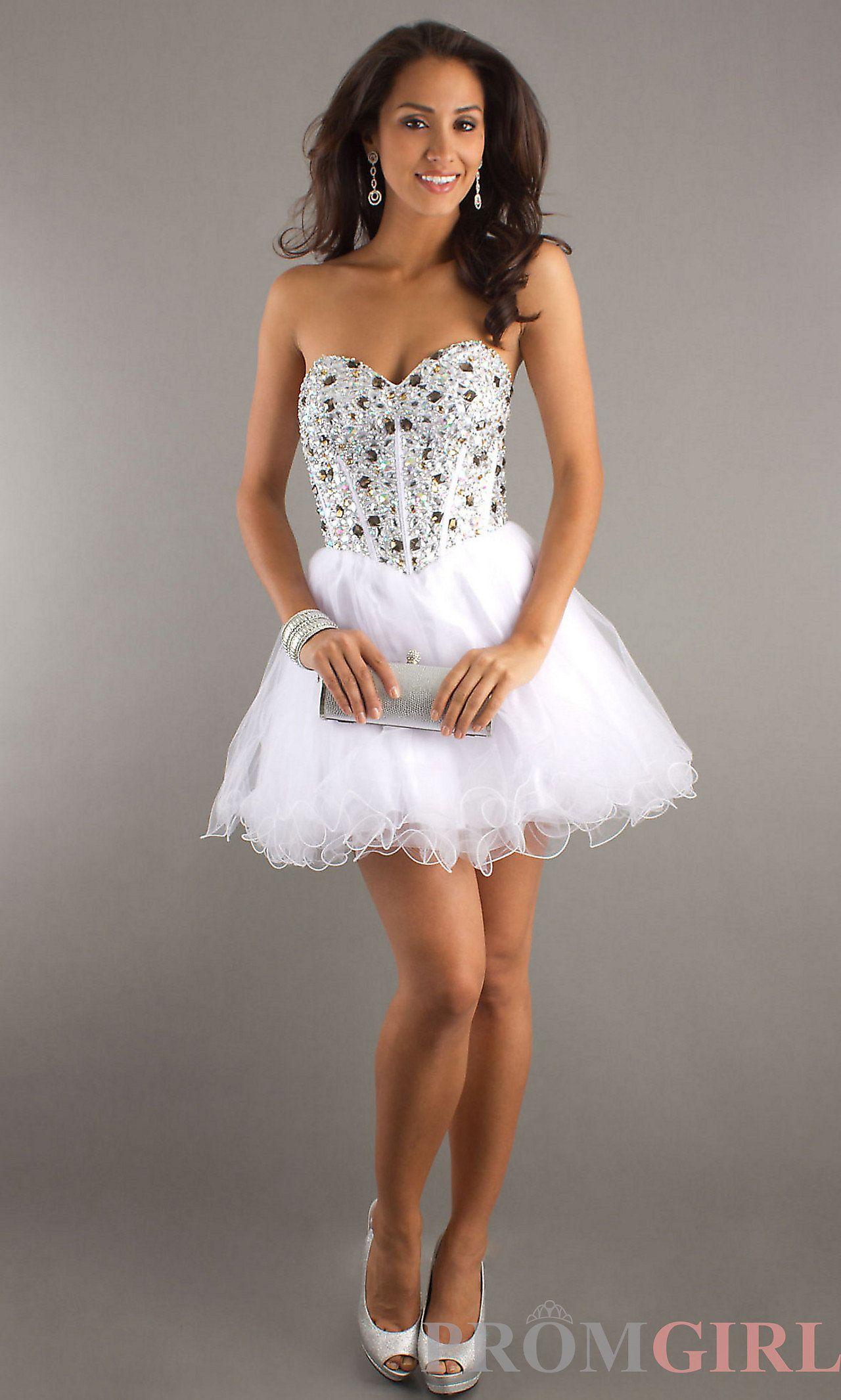 Frontview Short Dresses Pinterest Court Dresses Sweet 16 And