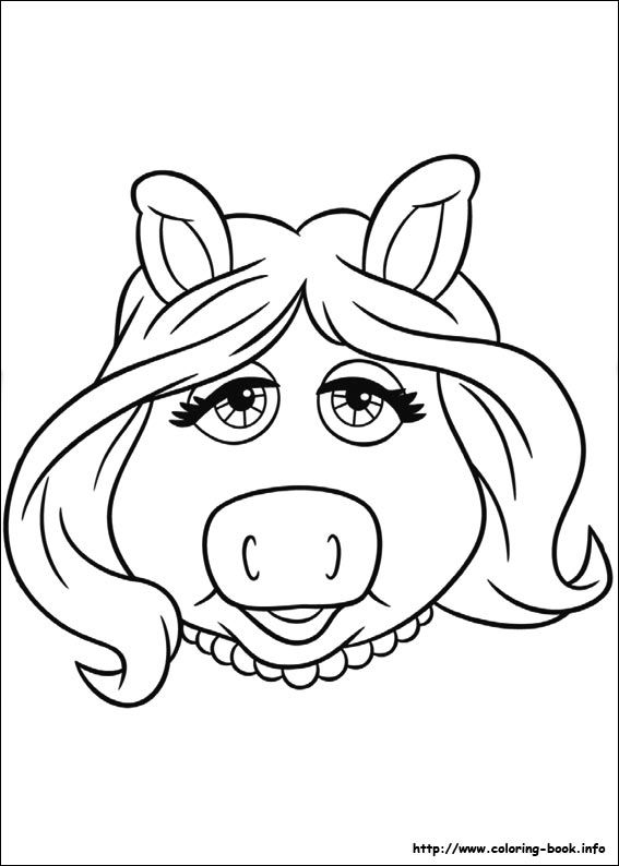 "The Muppets coloring picture | ""I don't care what you ..."