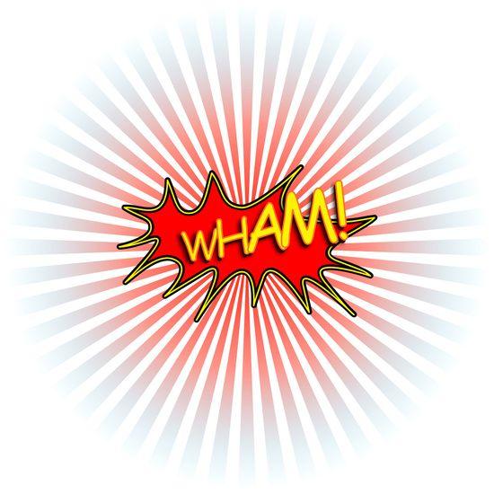 Nieuw in mijn Werk aan de Muur shop: Wham