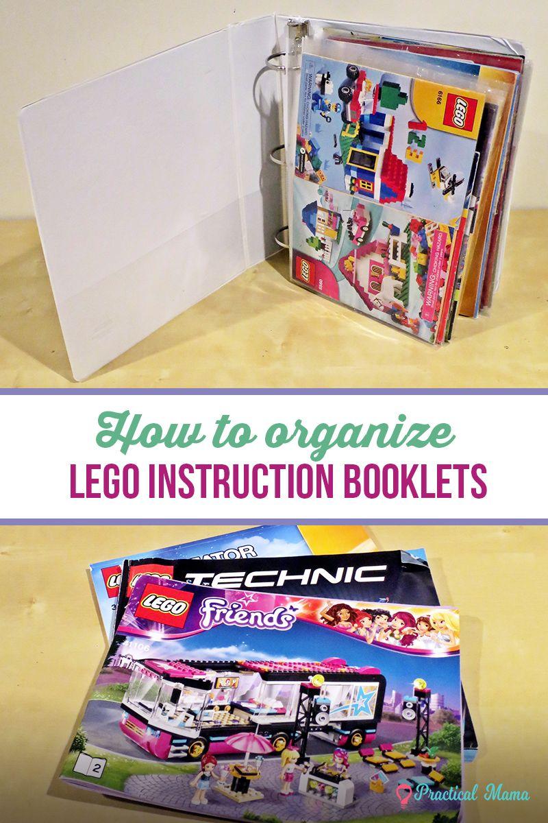 Lego Bedienungsanleitungen