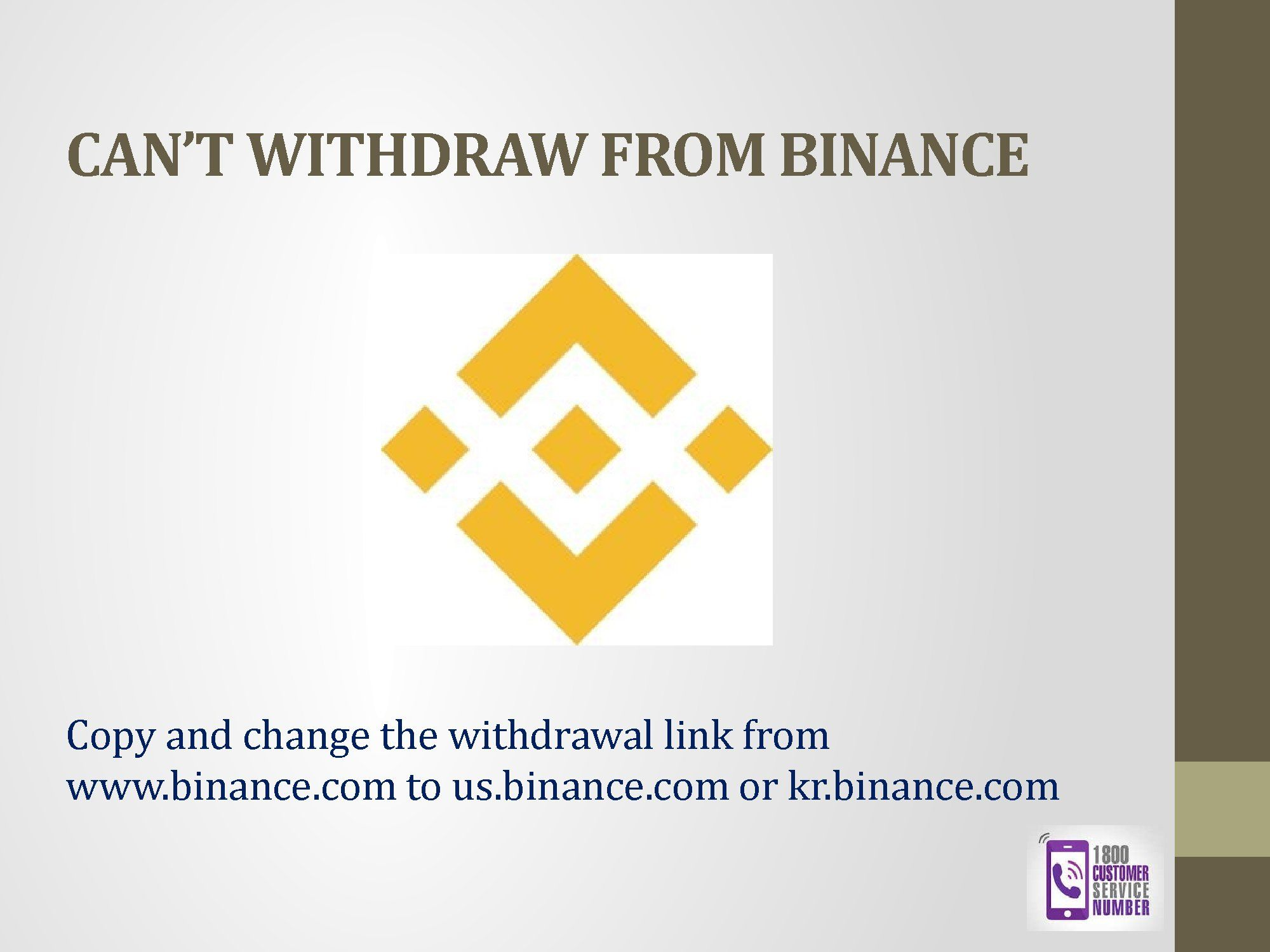 How To Fix Binance Issue Easily USA +18442001631