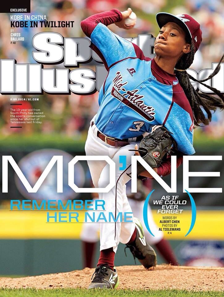 Mo Ne Davis First Female Pitcher In The Little League World Series And To Have A Shut Out Sports Illustrated Sports Illustrated Swimsuit Issue Swimsuit Issue