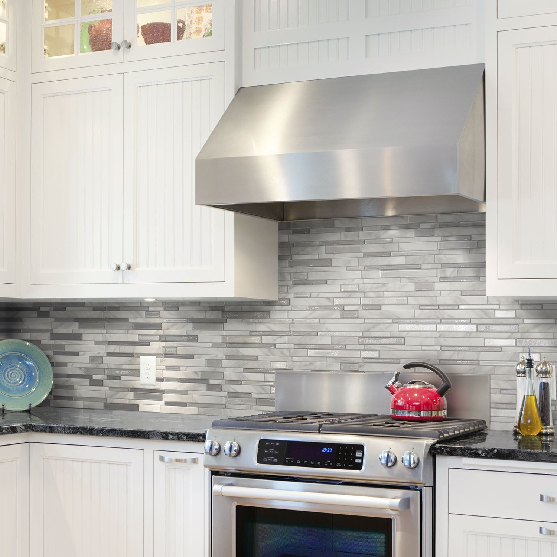 Installer Une Credence En Verre inspirations | smart tiles | crédence cuisine, carrelage