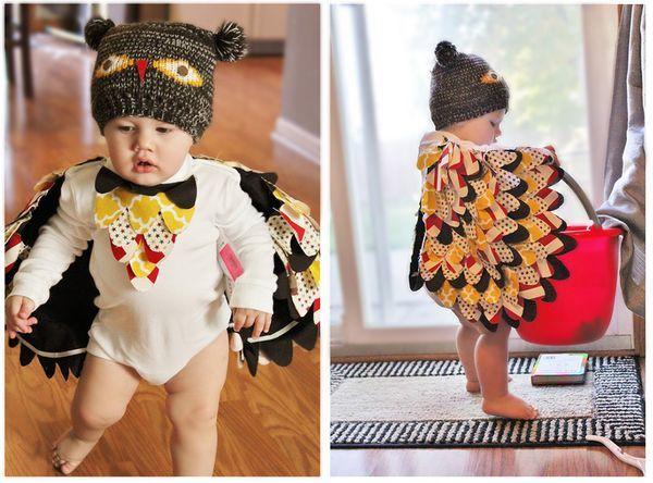 DIY Baby Owl Costume Tutorial  sc 1 st  Pinterest & DIY Baby Owl Costume Tutorial   Baby owl costumes Baby owl and Owl hat