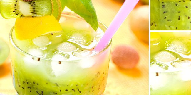 Vemale Com Green Cocktail Longan Minuman Musim Panas Resep Minuman Mojito