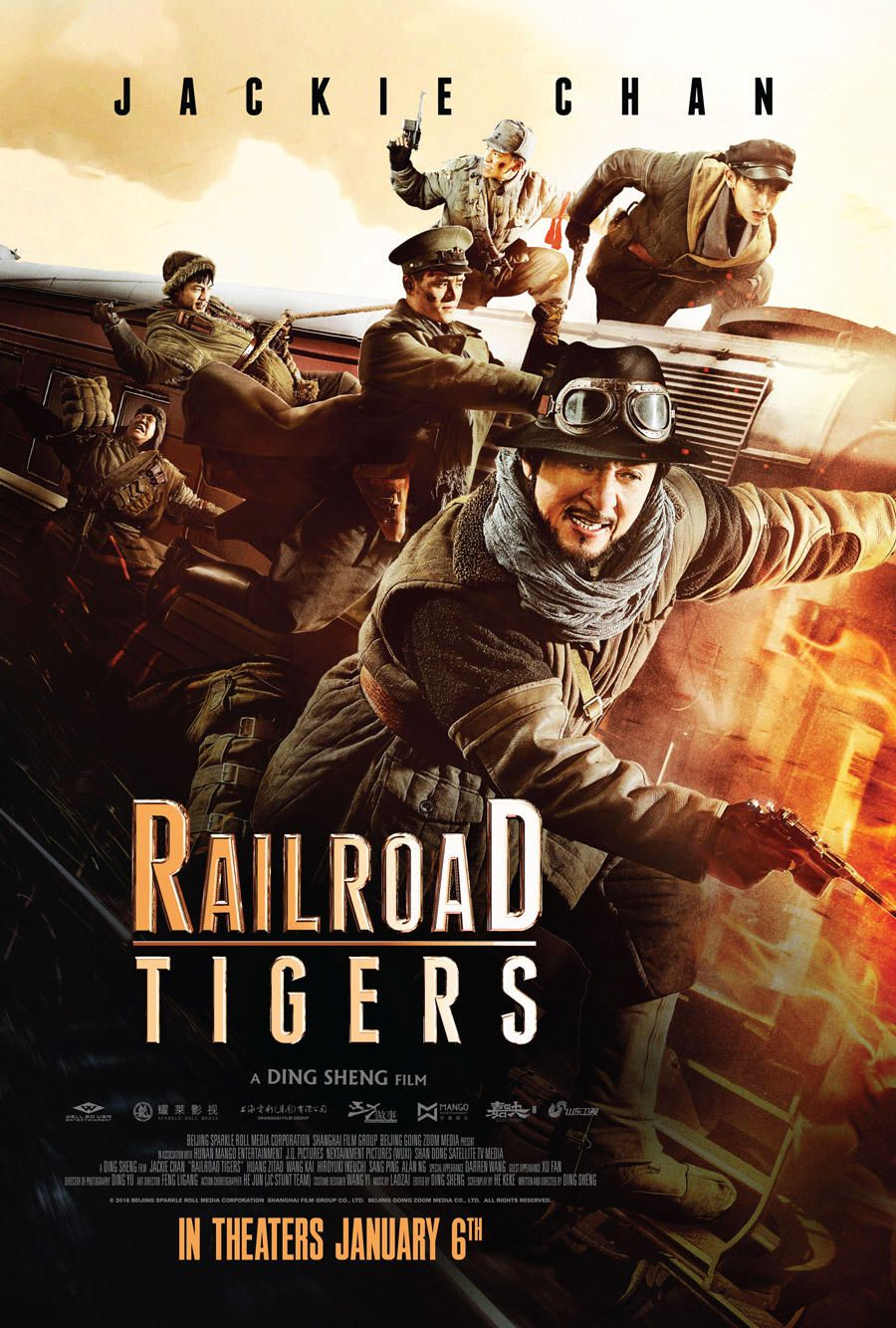 Railroad Tigers 2016 Tamil Dubbed Hd In 2020 Jackie Chan