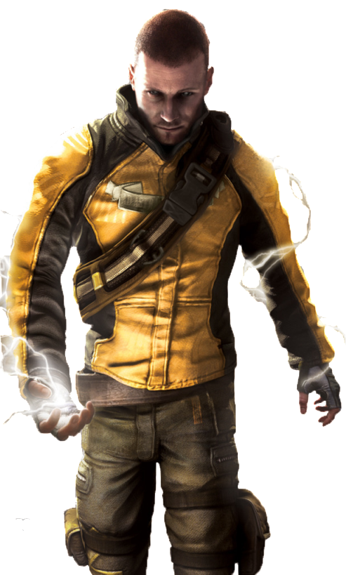 Cole Macgrath Infamous Second Son Jackets Winter Outfits