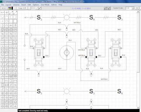 Free trial of hydraulic and electrical schematic diagrams for Online 2d drafting software
