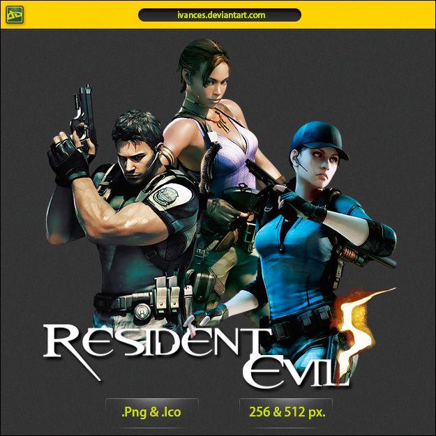 Resident Evil 5 Icon By Ivances On Deviantart Resident Evil Resident Evil 5 Evil