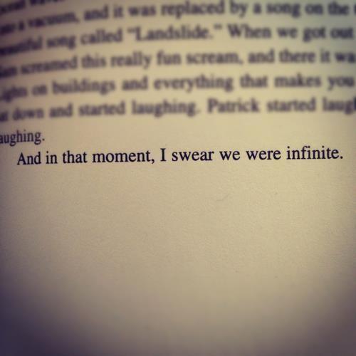 E Nesse Momento Eu Juro Nós Somos Infinitos As Vantagens De