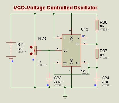 Awesome Voltage Controlled Oscillator Vco Using 555 Timer Ic The Control Wiring Digital Resources Funapmognl