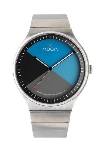 noon copenhagen Men's 42-004B2 Watch noon copenhagen. $215.00. Signature spinning disc face. High torque japanese movement. Round face; Silver mesh band. Water-resistant to 165 feet (50 M). Water resistant to 50 meters