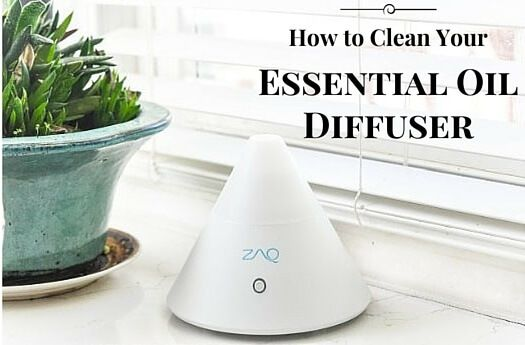 How to Clean Your Essential Oil Diffuser | cleaning your