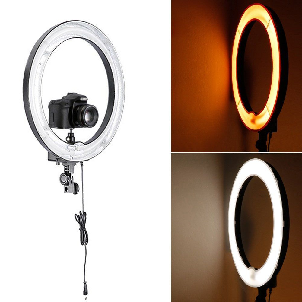 Neewer Reg Photo Ring Fluorescent Flash Light Kit Includes 1 18inch Outer 14inch Inner 75w 5500k Ring Light 1 Color Filte Color Filter Flashlight Photo Ring