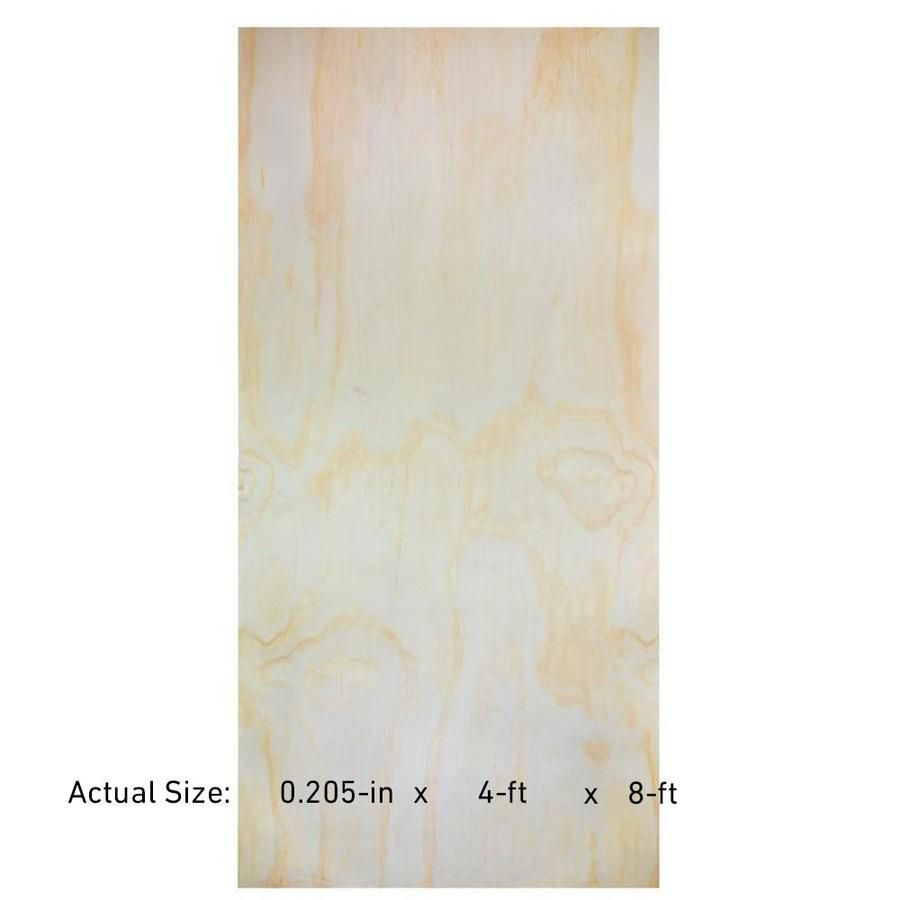 Shop Revolutionply Hardwood Plywood Common 1 4 In X 4 Ft X 8 Ft Actual Hardwood Plywood Plywood Underlayment Plywood