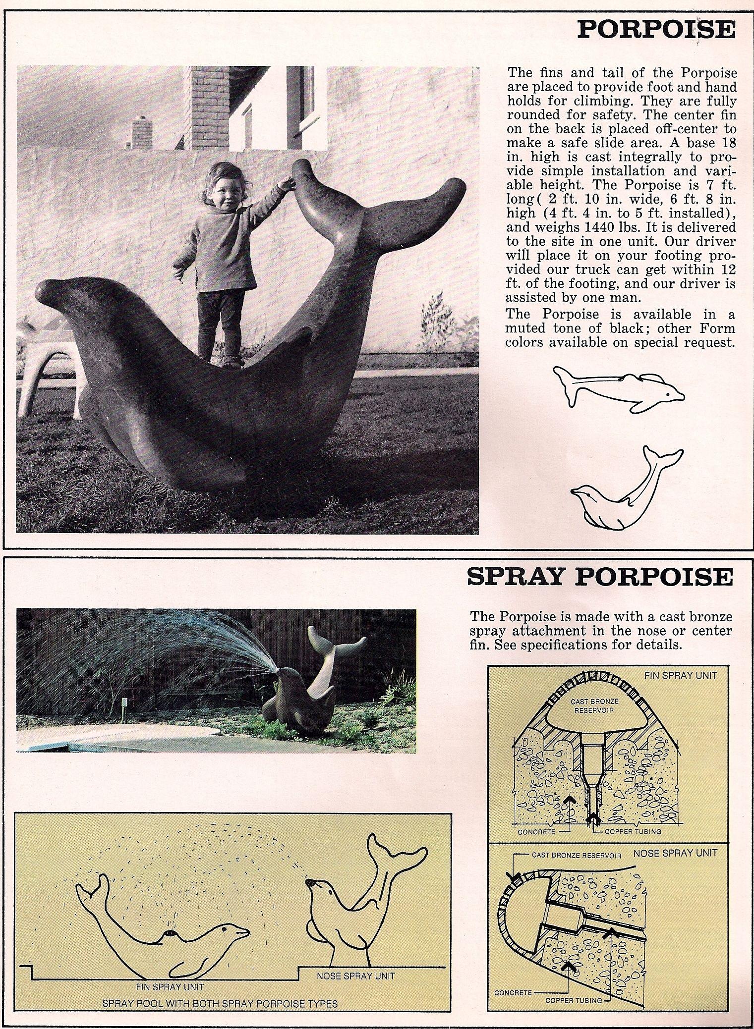 Resultado de imagen de play sculpture jim miller porpoise